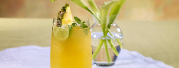 pineapple mojito recipe pineapple mint rum julep beverage recipes dole packaged foods