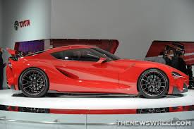 toyota supra side view toyota europe u0027s karl schlicht promises u201crisky designs u201d but not