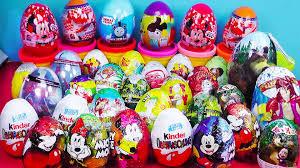 40 surprise eggs kinder surprise cars 2 thomas medved