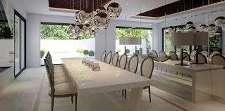 gourmet home kitchen design formal dining room interior design ideas