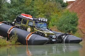 water jeep scale pontoon setup water crossings rccrawler