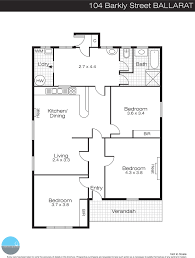 floor plan for bakery 104 barkly street bakery hill vic 3350 buxton