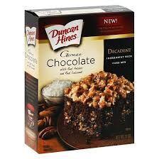 duncan hines german chocolate cake mix 16 5oz target