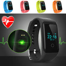 bracelet heart monitor images Heart rate monitor smart band fitness tracker bluetooth 4 0 jpg