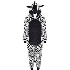 fluffy halloween costumes kids girls boys onesie soft fluffy zebra all in one halloween