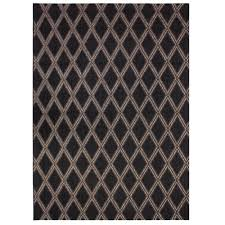 Indoor Outdoor Rugs Home Depot by Hampton Bay Diamond Brown 5 Ft 3 In X 7 Ft 5 In Indoor Outdoor