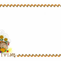 free thanksgiving border clipart the best cliparts