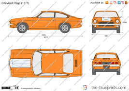 1975 chevy vega the blueprints com vector drawing chevrolet vega