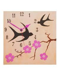 Pendule Murale Originale by Horloge Murale Moderne Design Avec Cerisiers En Fleur