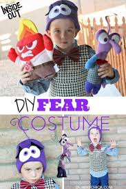 Inside Out Costumes Diy Fear From Inside Out Costume Costumes And Deserts