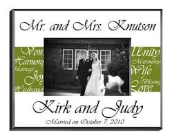 personalized wedding photo frame and groom frame personalized wedding gifts arttowngifts