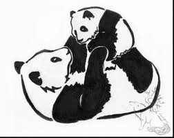 fantastic cute baby panda coloring pages with panda coloring pages