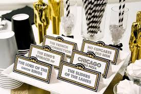 oscar party ideas oscars party printables party and diy ideas table tents