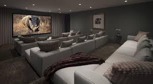 Grey Curtains On Grey Walls Decor Rectangle Screen And Grey Curtains On Grey Wall With White Sofa