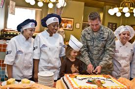 thanksgiving invocation crosswinds dining facility hosts annual thanksgiving meal u003e nellis