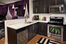 Small Kitchen Cabinet Design Ideas by Tiny Kitchen Dark Cabinet Warm Home Design