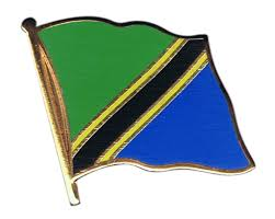 Flag Of Tanzania Tanzania Flag Pin Badge 1 X 1 Inch Best Buy Flags Co Uk