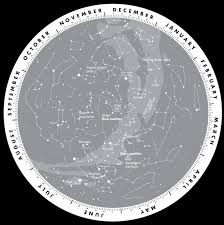 Map Of Constellations Wilderness Astronomy First Nations Star Chart First Ever