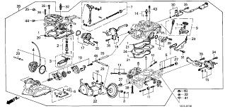 1989 honda accord engine 1989 honda accord 4 door lx ka 4at carburetor hondapartsnow com