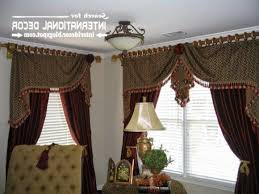 Burgundy Curtains With Valance Unique Window Valances Orange And Green Curtain Valance Curtain