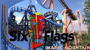 six flags magic mountain the roller coasters of six flags magic mountain youtube