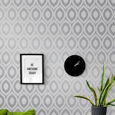 wallpaper designer plain striped childrens wallpaper at the range crown rimini wallpaper grey