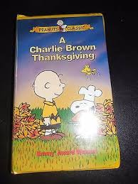 peanuts a brown thanksgiving vhs what s it worth
