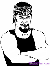 undertaker coloring pages how to draw the undertaker step by step sports pop culture