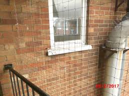 balcony netting examples in north london pb pest control