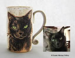 if you could be any animal pet portraits on pottery by susan altenau outlaw kritters gifts