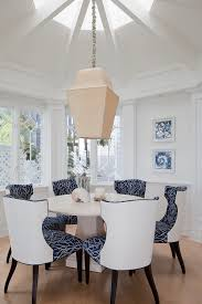 Patterned Dining Chairs Dining Chair Plan Combining Patterned Fabric And Solid Vinyl
