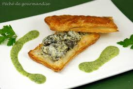 cuisiner des escargots feuilleté d escargots au coulis de persil plat d après françois paul