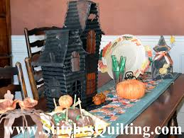 halloween dining table decorations