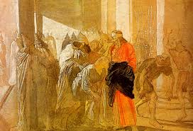 the mocking of christ from the biblical sketches alexander