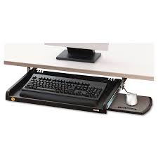 Mouse Platform Under Desk Under Desk Keyboard Drawer By 3m Mmmkd45 Ontimesupplies Com