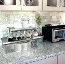 kitchen countertop storage ideas countertop storage ideas dominy info