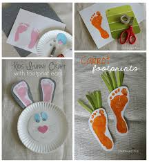 easy crafts for kids e2 80 93 cute diy projects 4 spring footprint