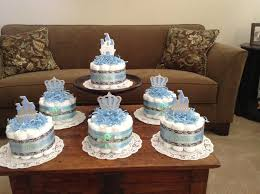 cake centerpiece prince baby shower cakes centerpieces other