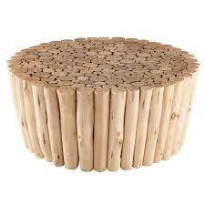 bout de canap bois bout de canapé en bois d eucalyptus robinson maisons du monde