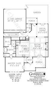 1 floor home plans garden home plans womenforwik org