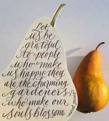 thanksgiving happy thanksgiving pear shaped cards