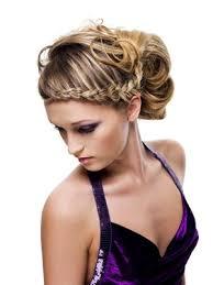 Flecht Und Hochsteckfrisurenen by Hochgesteckt U Seitlich Geflochten Haare Haare