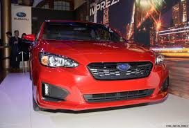 2017 subaru impreza sedan sport 2017 subaru impreza sport and 5 door live ny debut