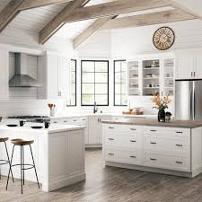 best white paint for shaker cabinets two affordable options for white shaker cabinets at home