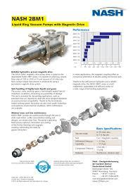 nash 2bm1 magnetic drive english nash pdf catalogue