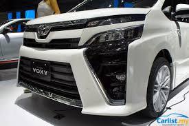 kereta lexus malaysia jakarta 2017 all new 2017 toyota voxy introduced cbu japan 2 0
