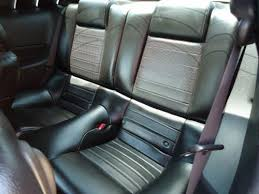 2010 mustang seat covers acme mustang leather upholstery kit black 05 09 coupe