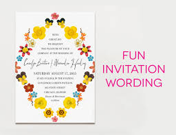 bridal invitation wording wedding invitation wording creative and traditional a practical