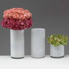 White Glass Vases Containers U0026 Vases Containers Glassware Glass Vases White