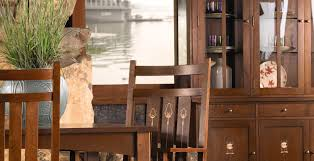 Stickley Dining Room Furniture Stickley Mission Round Pedestal Dining U2013 Traditions At Home